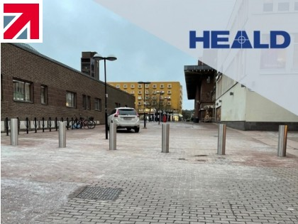 Heald Ltd and Swedish security company Intergate sign distributor agreement and celebrate their first installation in Stockholm