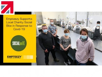 Empteezy supports local charity Social Bite in response in response to COVID-19
