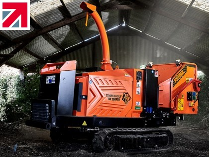 New Stage V Wood Chippers from Timberwolf – The Pack with More Power