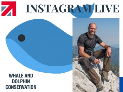In discussions with Monty Halls - Marine Biologist & Explorer