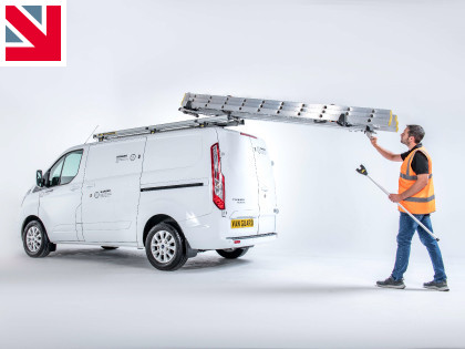 Safe loading with the Van Guard Ladder Loader