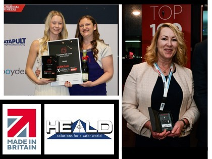 The Manufacturer award success for Heald