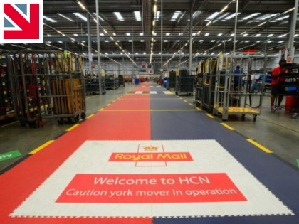 Royal Mail gives Ecotile Flooring stamp of approval
