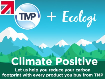 Let us help you reduce your carbon footprint with every product you buy from TMP - Be Climate Positive