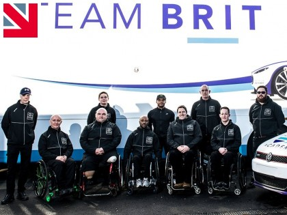 Northamptonshire manufacturers kit out Team BRIT