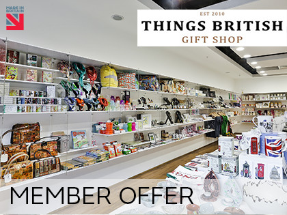MEMBERS ONLY Retail Space offer at Things British