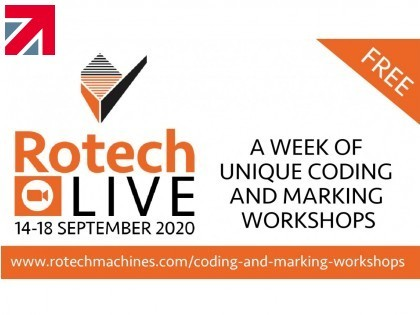 Rotech Machines host a week of FREE online coding and marking workshops
