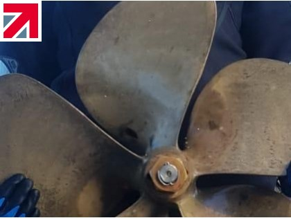 Clements Engineering helps fishing boat with lost propeller