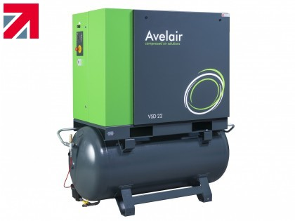 Avelair's latest Variable Speed Air Compressors offer enhanced energy savings