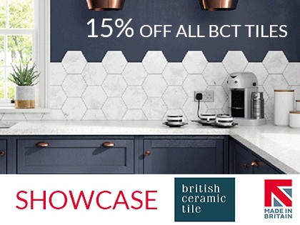 Members enjoy 15% off at British Ceramic Tile