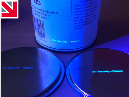 'Invisible' coding with UV ink