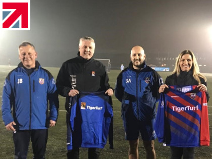 TigerTurf cement their commitment to grassroots sport with new sponsorship