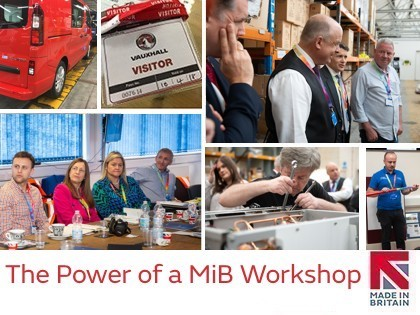 Feel the power of the Made in Britain workshop