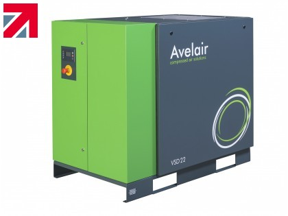 Avelair supplying a new air compressor for the production of sanitising liquid