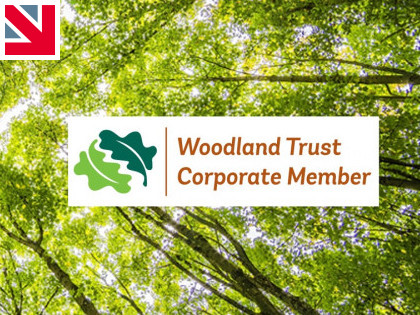 George Barnsdale sponsors the Woodland Trust