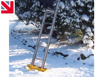 Use a ladder? Stay safe in the winter months