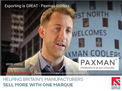 Paxman Coolers inspire manufacturing exporters in new Exporting is GREAT short film