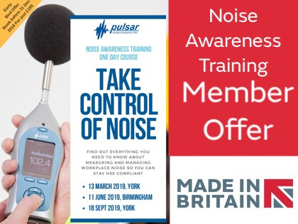 Pulsar Instruments Offer New Noise Safety Courses for 2019: Early Bird Savings!