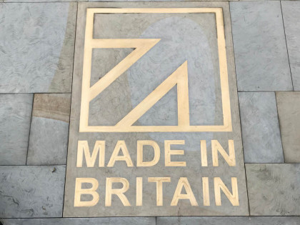 The Made in Britain stone has a new home