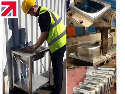 Pland launches emergency hand-wash basin in response to industry demand