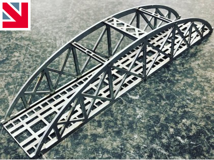 Manufacturing bridges for model train enthusiasts