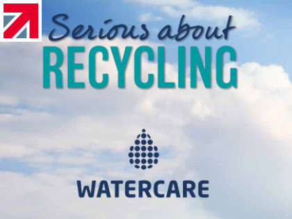 WaterCare recycles and re-purposes ALL types of water filters at its recycling facility in Harlow, Essex.