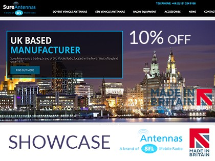 Sure Antenna offer 10% discount to all Made in Britain members