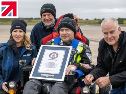 Heald supports terminally ill man to achieve Guinness World Record