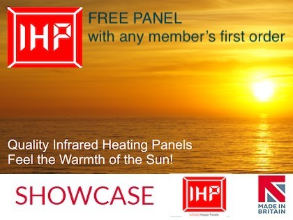 Infrared Heater Panels introduce exclusive offer for MIB members