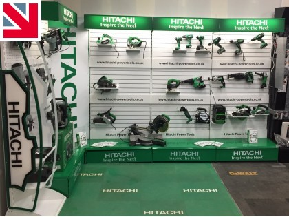 Hitachi Power Tools use Ecotile to enhance POS offering