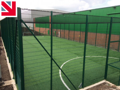 Playrite Conqueror 60MF converts wasteland to more pitches for The Soccer Factory in Rochdale