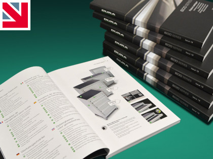 Hot off the press - Dura's new product catalogue has just arrived!