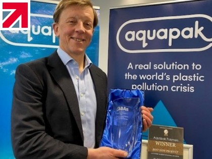 Laundry Bags Made of Aquapak's Hydropol™ Awarded LADA's Best New Product