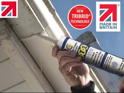 CT1 - The UK's Number 1 Sealant and Adhesive using TRIBRID® Technology, outperforming old Hybrids. Made in Britain.