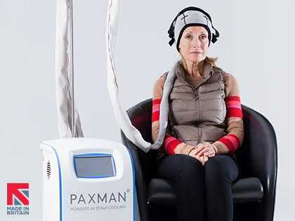 PAXMAN achieving 'cool' results in US with scalp cooling