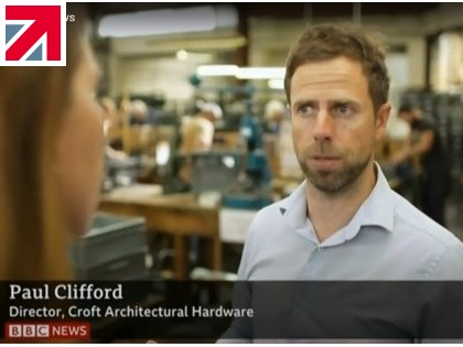 Croft in the TV Spotlight for British Industry