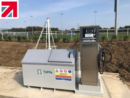 Tuffa Petrol Tank Fuels the LCFC Maintenance Fleet