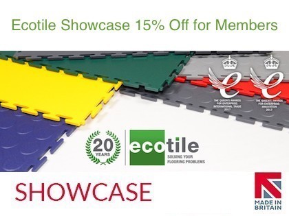 Ecotile - factory flooring of the highest standard
