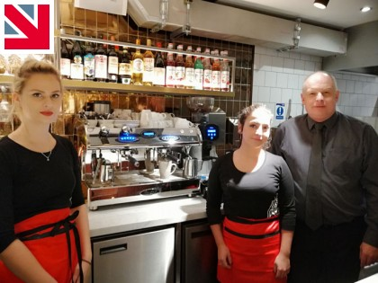 Fracino awarded prestigious commission with PizzaExpress