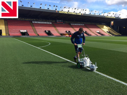 Pitchmark Ecoline+ hits the mark at Watford