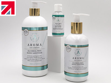 Aroma Care Solutions is offering 20 per cent off its alcohol-free hand sanitiser