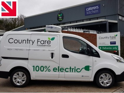 All-electric refrigerated van for Country Fare