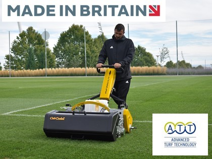 Sheffield-made mowers give Dutch soccer the edge