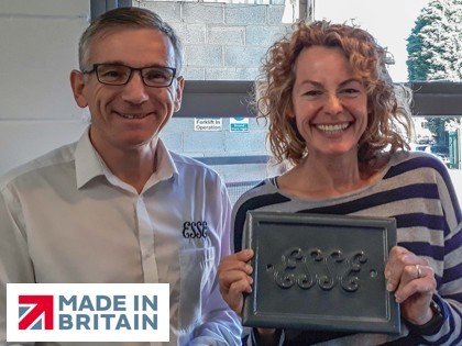 TV star Kate Humble drops in for a quick coffee at ESSE