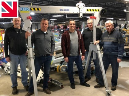 Reid Lifting partners with Equipment Corps in Canada