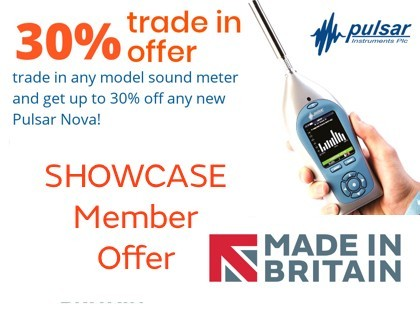 Save up to 30% on a Nova when you trade in any sound meter