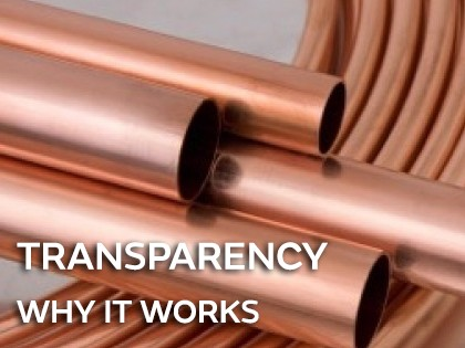 Transparency - why it clearly works