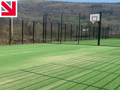 Talybont Community Council resurfaces tennis courts with Playrite's Champion 20