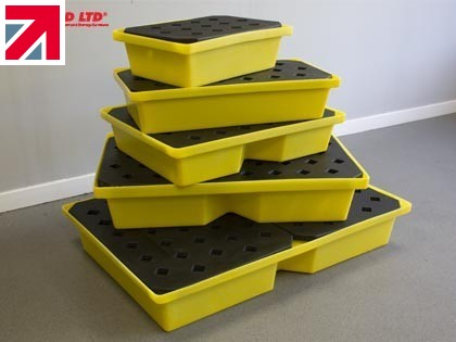 Key benefits of using spill trays in your business