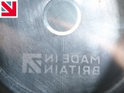 Made in Britain logo now part of the muggi tool!